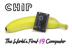只要9美元可以買這台微型電腦 C.H.I.P.,上網玩遊戲都OK!