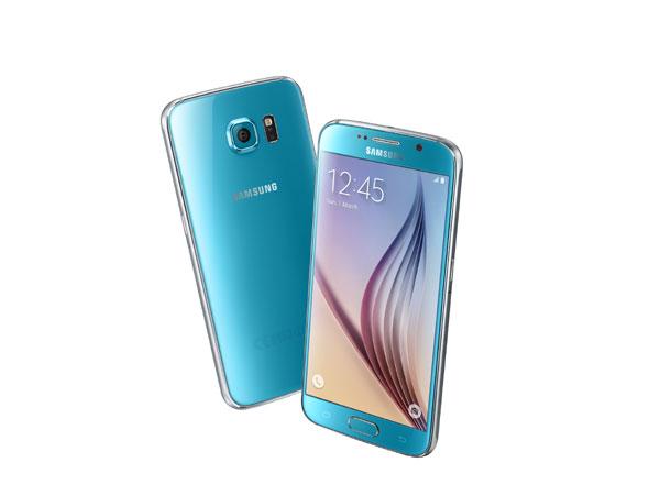 Samsung GALAXY S6晶玉藍新色報到,S6 edge極光綠再等等