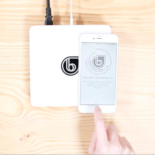 5/13隆重在群募貝果上推出專為iPhone, iPad與iPod Touch量身打造的全新Beckibox BX-101ip