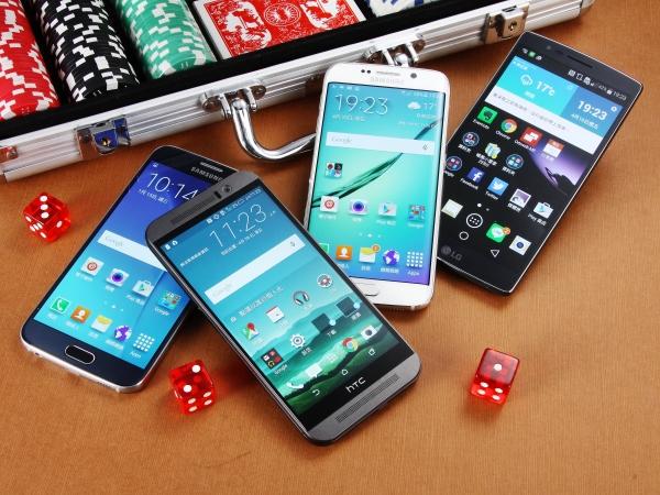 2015 上半年4款旗艦手機: S6、S6 Edge 、G Flex 2、One M9 正面交鋒