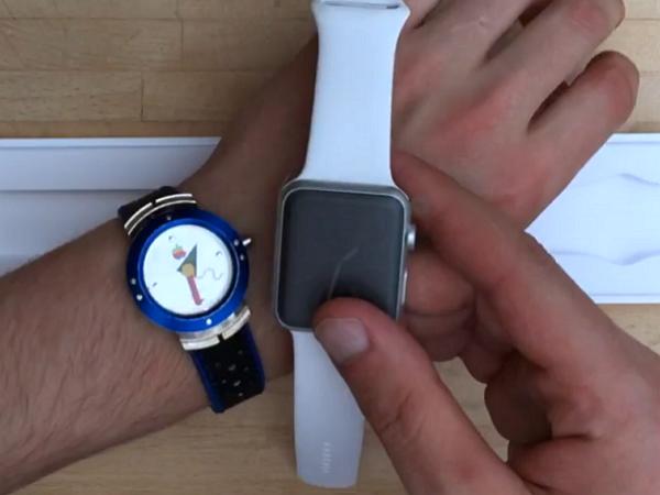 (短片)圓形才好看!這個網友動手把Apple Watch磨圓給你看
