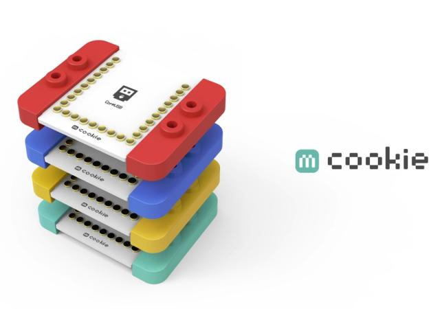 可以和Lego積木合體的微型控制器Microduino mCookie