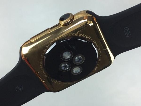 只要97美元,就可把 Apple Watch 鍍成18K金土豪版
