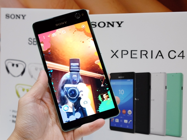 Sony 發表自拍手機 Xperia C4、2K 輕薄平板 Xperia Z4 Tablet | T客邦