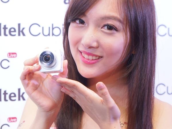 蛋黃哥相機帶著走,外接式鏡頭「Cubic」讓手機也能 YouTube HD 影像直播!
