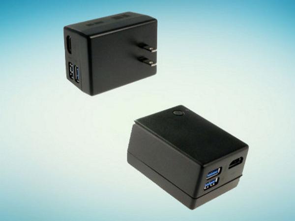 這個長得像變壓器的「微軟小盒子」,微軟說它其實是一台電腦