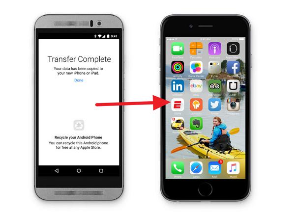 蘋果開發了一款Android App ,功能竟然是幫 Android 用戶搬家到 iPhone 上