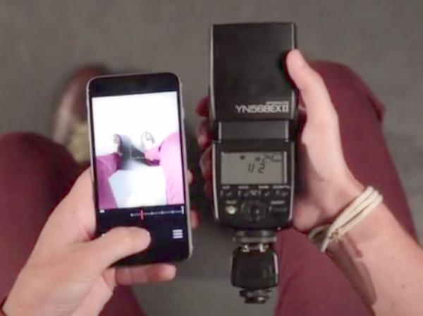 手機也能用離機閃燈?iPhone 專用無線引閃器「TRIC」讓專業外閃也能補光