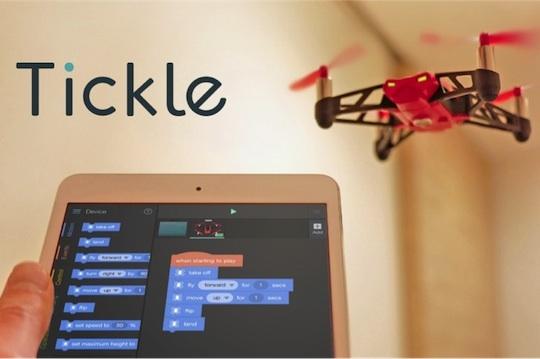 台灣團隊成功開發 Tickle 教學平台,全美千所中小學指定使用,突破現有程式教育框架,開創 Maker 教育與應用新局面