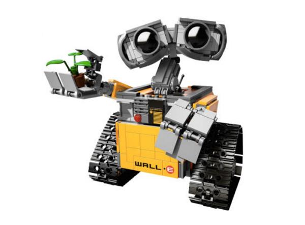 可愛到快融化!樂高版Wall-E預計上市