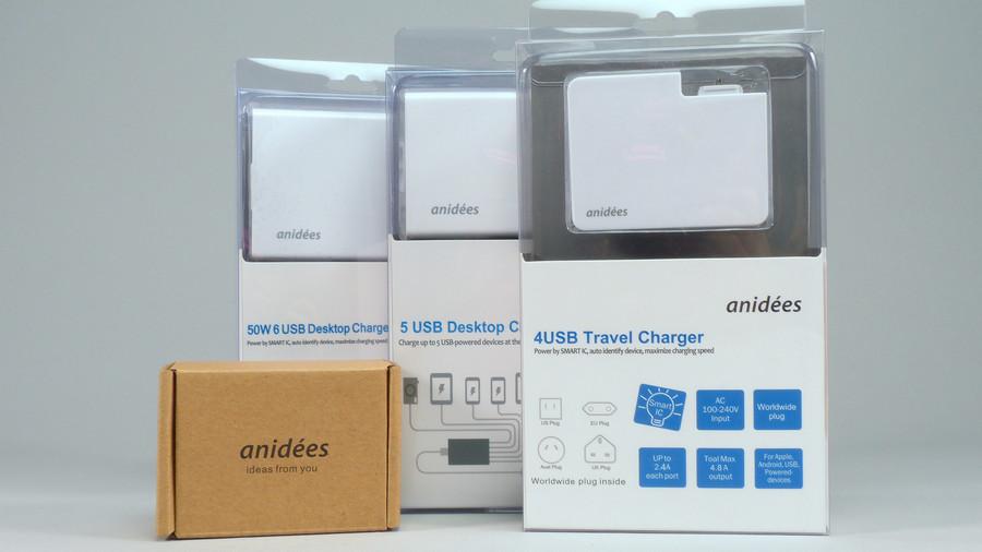Anidees 多埠智慧型 USB 充電器,電壓穩定度實測