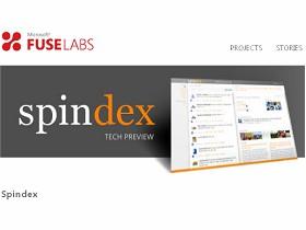 微軟推出社交網路整合軟體Spindex