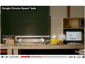 飛快的Google Chrome影片巄係假?