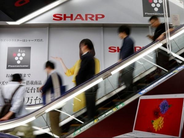 夏普公司徵集自願離職者,限定 45 歲以上