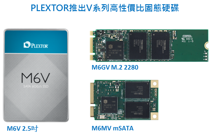 PLEXTOR推出V系列固態硬碟,搭載PlexTurbo加值軟體 最超值的系統升級方案,無負擔擺脫傳統硬碟