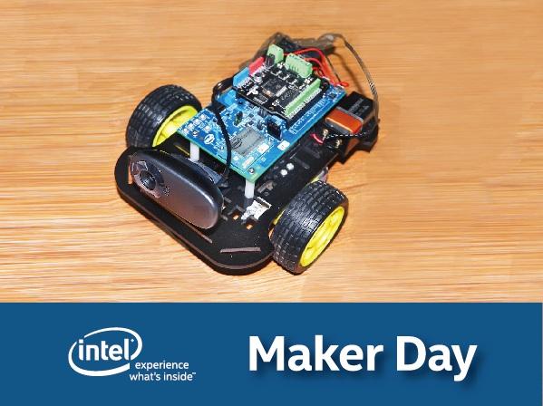 【Maker Club】Intel Edison Wi-Fi 無線遙控攝影車實作坊,了解開發板、環境設定、寫程式、功能實作,作品材料通通帶回家