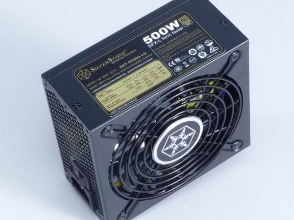 SFX 電源供應器也可以很安靜,銀欣 SX500-LG