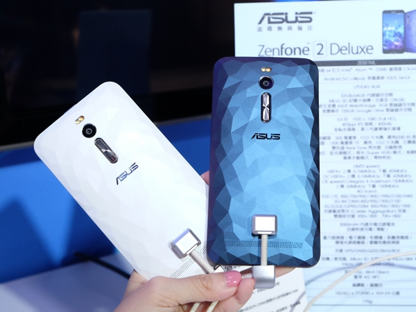 全都萬元有找!華碩 ZenFone Selfie、Laser、Deluxe 三款自拍手機齊發
