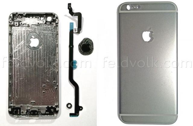 iPhone 6背殼最新諜照,更多細節!
