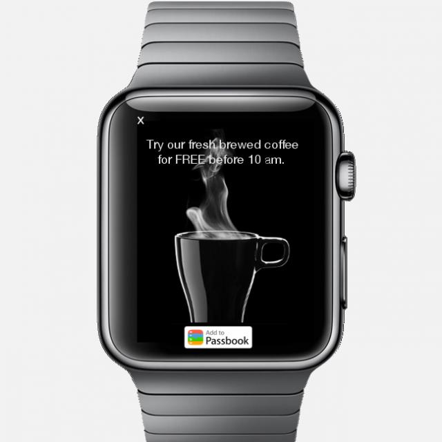 行動廣告的下一步,Apple Watch?