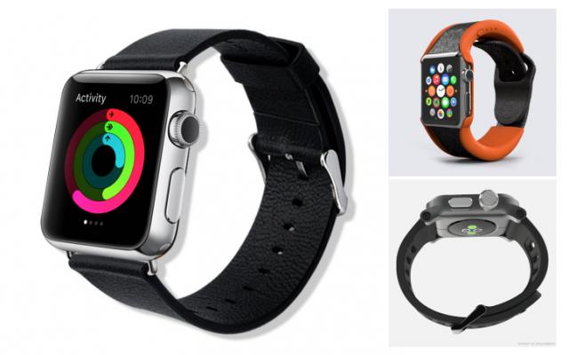 Apple Watch還未上市,配件商大舉襲來