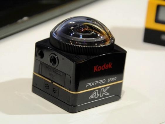 柯達不老舊,他們也有 GoPro 那樣的運動相機