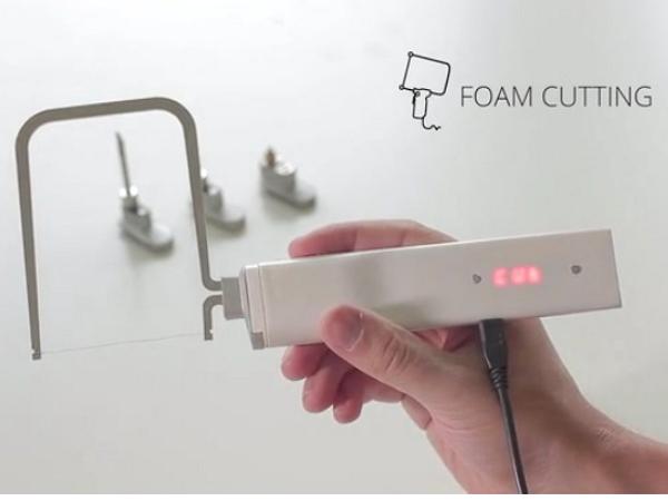 Maker界的好折凳:3Dsimo mini可當烙鐵、燒灼刀頭、3D列印筆