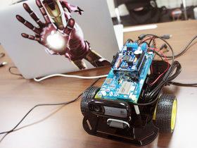 【Maker Club】Intel Edison Wi-Fi 無線遙控攝影車實作坊