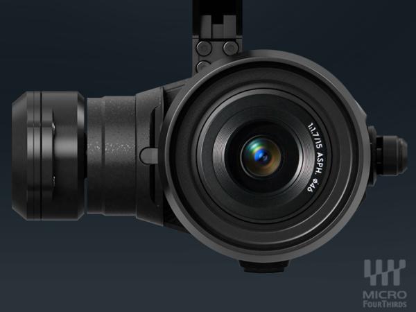 可換鏡頭的空拍機!DJI 發表 4K 錄影、M4/3 系統空拍雲台 Zenmuse X5