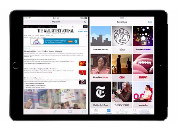 蘋果正式釋出iOS 9,雙螢幕多工就像換了台iPad