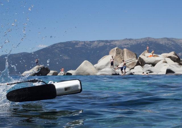 空拍機落伍了,用Trident在水下拍才酷