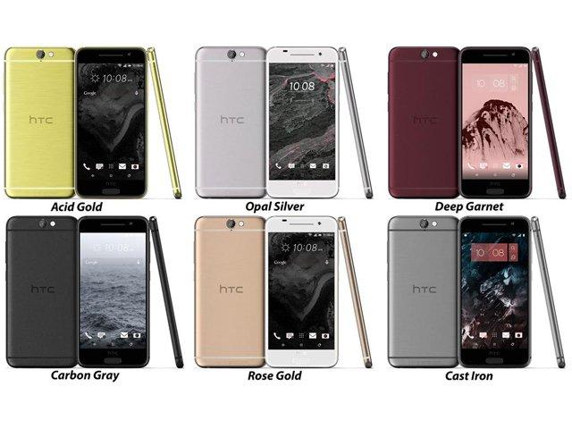 HTC One A9 六色機身照片曝光,外型激似 iPhone 6s