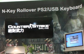【Computex 2010】全鍵連發N-keys Roll over時代降臨