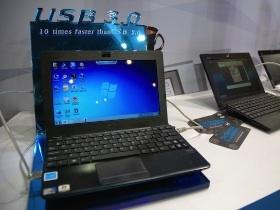 【Computex 2010】Asus Eee PC 1018P超輕薄USB 3.0筆電