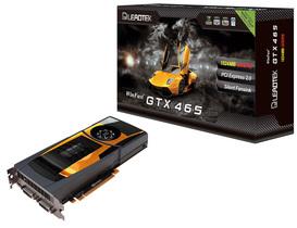 麗臺科技WinFast® GTX 465顯示卡飆速上市