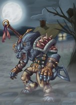 【魔獸世界】Fan Art:狼人戰士