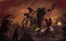 【魔獸世界】Fan Art:暗黑破壞神III