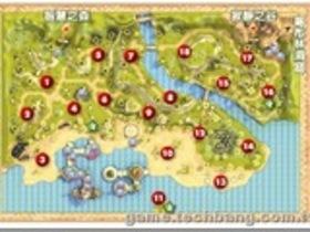 【奇夢之星WISH】【奇夢之星】地圖攻略:足跡海岸