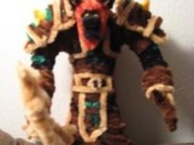 【魔獸世界】Fan Art:手製牛頭小德娃娃