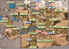 【希望戀曲】【希望戀曲】村莊地圖整理