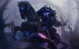 【魔獸世界】官網新Fan Art:死亡騎士