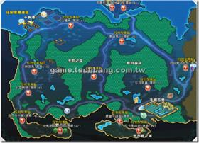 【勇者之歌】【勇者之歌】地圖資料-薩圖努帝國「寂靜河谷」