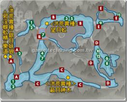 【劍狐傳奇】【劍狐傳奇】地圖與怪物-蔽月谷