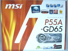 熱導管脫了!MSI P55A-GD65