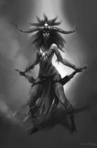 【暗黑破壞神III】官方Fan Art:暗黑破壞神III