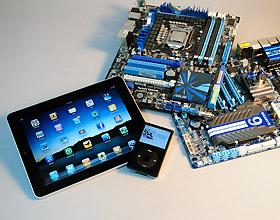 用PC幫iPad充電,華碩技嘉比一比