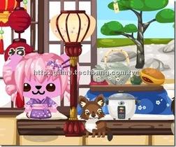 【Pet Society】一緒に花見を行くぜ!