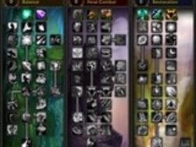 【魔獸世界(舊)】【4.0】德魯伊天賦樹列表