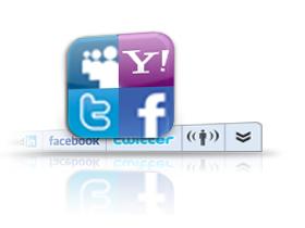 Wibiya萬能工具列,讓你的網站完美連結臉書互動圈
