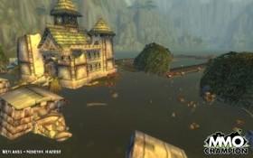 【魔獸世界】溼地的米奈希爾港淹了...